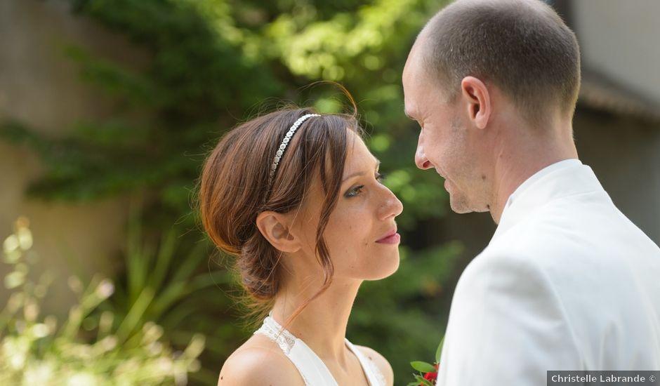 Le mariage de Brice et Caroline à Saint-Martin-de-Valgalgues, Gard