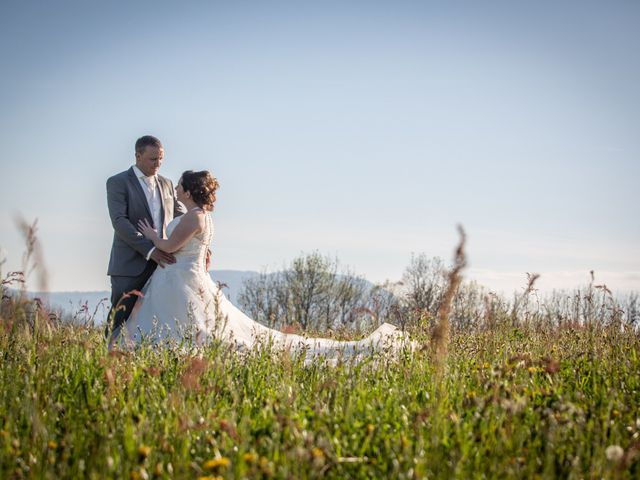 Le mariage de Benoit et Audrey à Draillant, Haute-Savoie 3