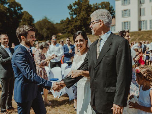 Le mariage de Quentin et Ines à Roanne, Loire 105