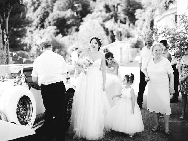 Le mariage de Hugo et Chloé à Escragnolles, Alpes-Maritimes 35