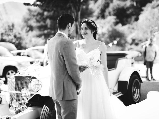 Le mariage de Hugo et Chloé à Escragnolles, Alpes-Maritimes 36