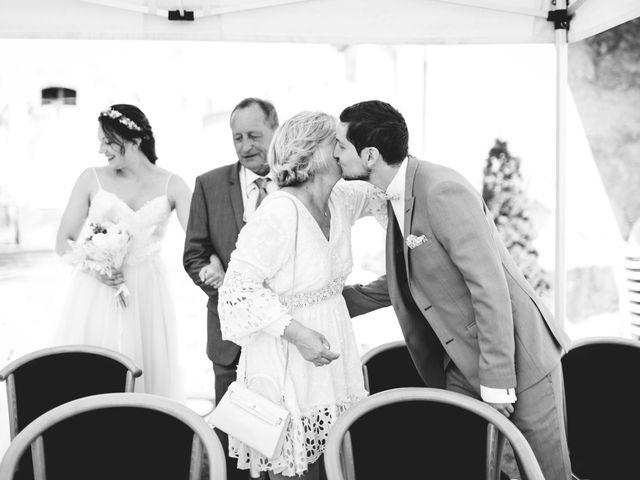 Le mariage de Hugo et Chloé à Escragnolles, Alpes-Maritimes 37