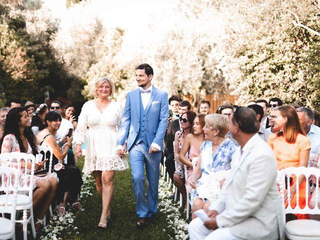 Le mariage de Hugo et Chloé à Escragnolles, Alpes-Maritimes 44