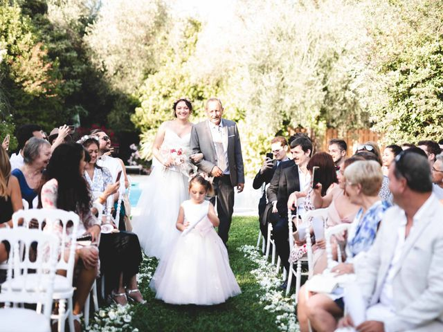 Le mariage de Hugo et Chloé à Escragnolles, Alpes-Maritimes 46