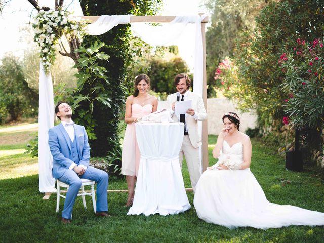 Le mariage de Hugo et Chloé à Escragnolles, Alpes-Maritimes 47