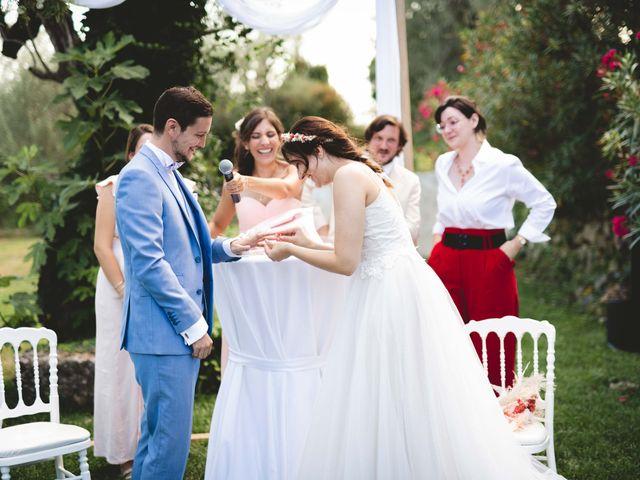Le mariage de Hugo et Chloé à Escragnolles, Alpes-Maritimes 52