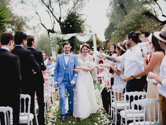 Le mariage de Hugo et Chloé à Escragnolles, Alpes-Maritimes 56