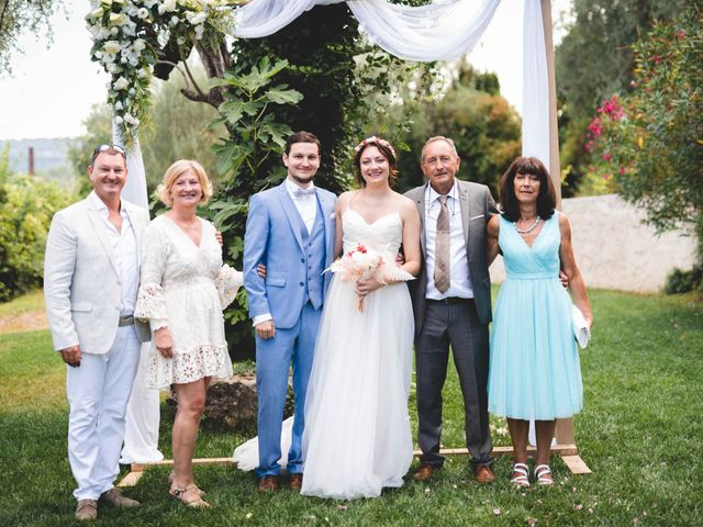 Le mariage de Hugo et Chloé à Escragnolles, Alpes-Maritimes 58
