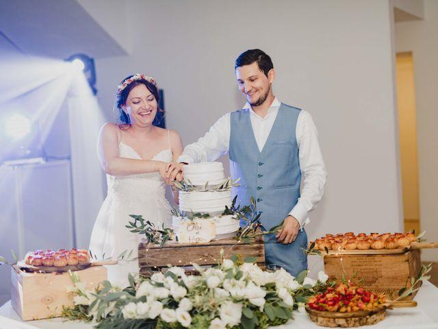 Le mariage de Hugo et Chloé à Escragnolles, Alpes-Maritimes 116