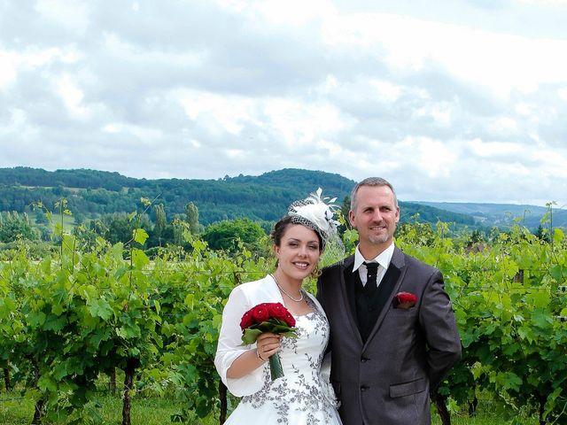 Le mariage de Romuald et Scarlett à Le Bugue, Dordogne 6