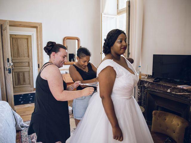 Le mariage de Stevie et Diénéba à Salles-sur-l'Hers, Aude 11