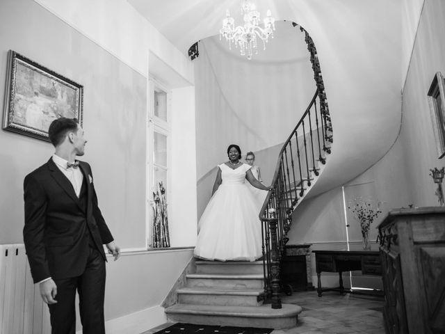 Le mariage de Stevie et Diénéba à Salles-sur-l'Hers, Aude 34