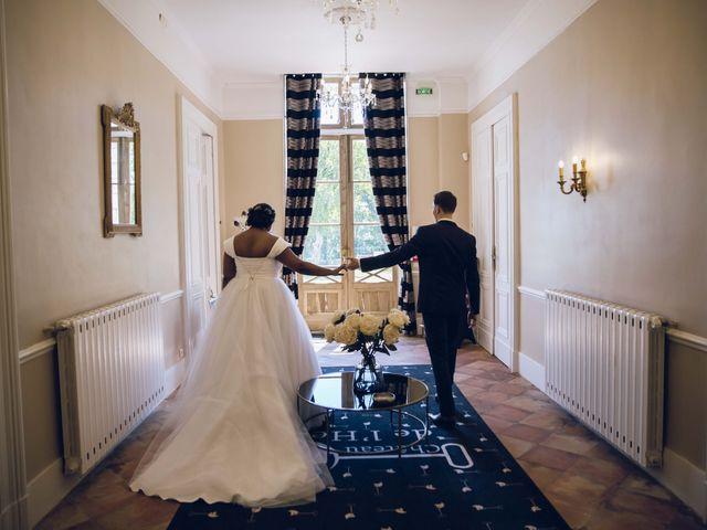 Le mariage de Stevie et Diénéba à Salles-sur-l'Hers, Aude 37