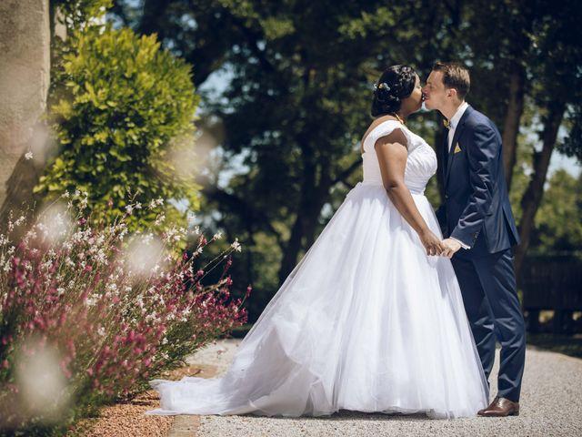 Le mariage de Stevie et Diénéba à Salles-sur-l'Hers, Aude 45