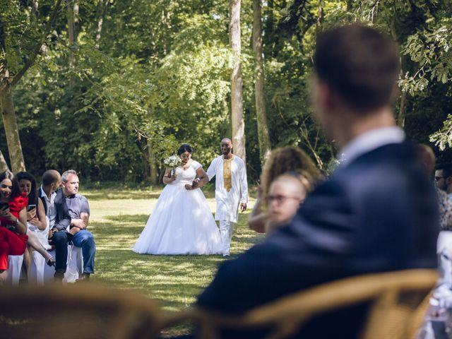 Le mariage de Stevie et Diénéba à Salles-sur-l'Hers, Aude 50