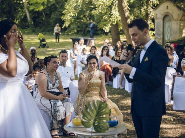 Le mariage de Stevie et Diénéba à Salles-sur-l'Hers, Aude 55