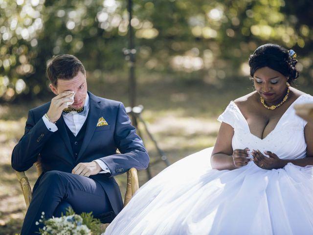 Le mariage de Stevie et Diénéba à Salles-sur-l'Hers, Aude 63