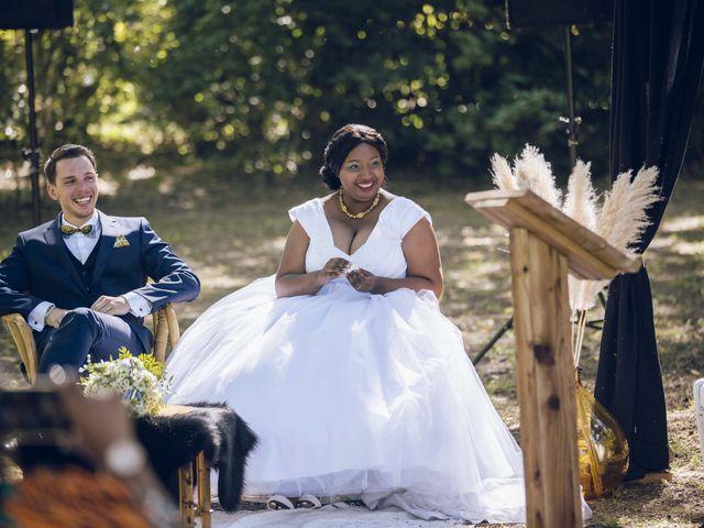 Le mariage de Stevie et Diénéba à Salles-sur-l'Hers, Aude 64