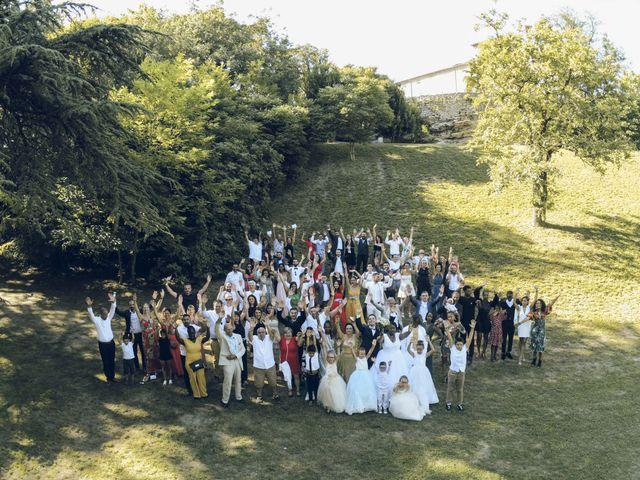 Le mariage de Stevie et Diénéba à Salles-sur-l'Hers, Aude 70
