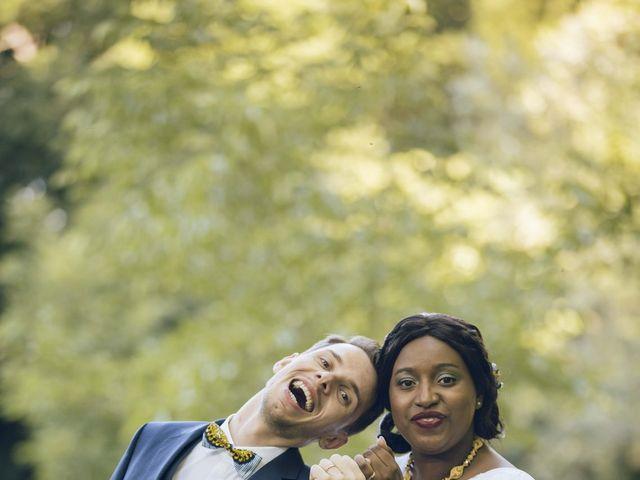 Le mariage de Stevie et Diénéba à Salles-sur-l'Hers, Aude 73