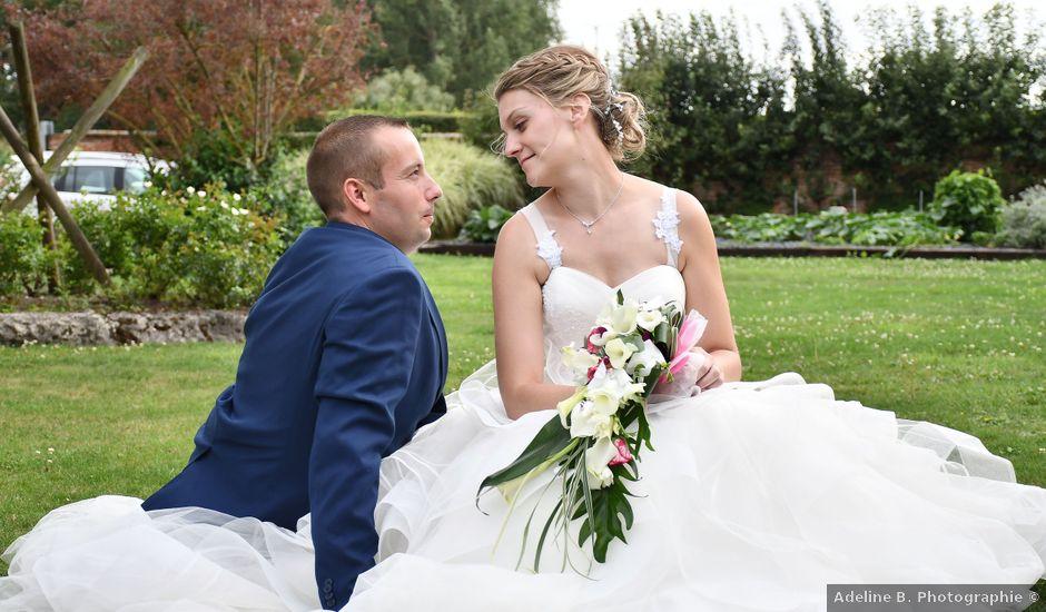 Le mariage de Mathieu et Marie à Ailly-sur-Noye, Somme