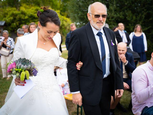 Le mariage de Guillaume et Fanny à Le Louroux, Indre-et-Loire 35