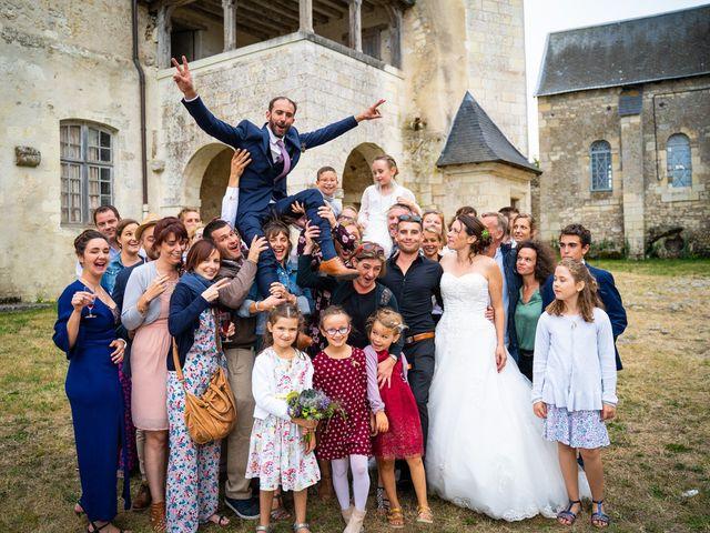 Le mariage de Guillaume et Fanny à Le Louroux, Indre-et-Loire 74