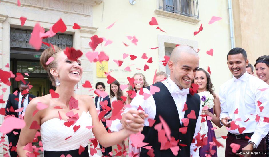 Le mariage de Gabriel et Kristina à Adissan, Hérault