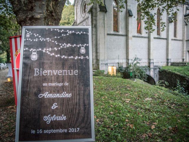 Le mariage de Sylvain et Amandine à Châbons, Isère 18