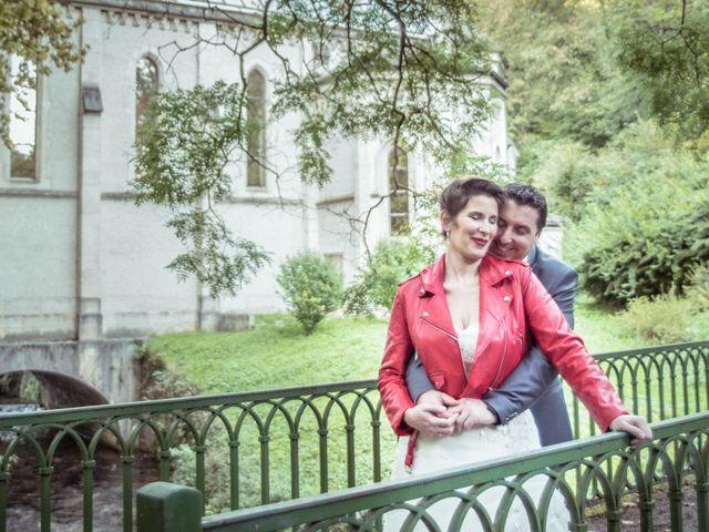 Le mariage de Sylvain et Amandine à Châbons, Isère 1