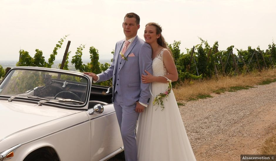 Le mariage de Yann et Mylène à Mollkirch, Bas Rhin