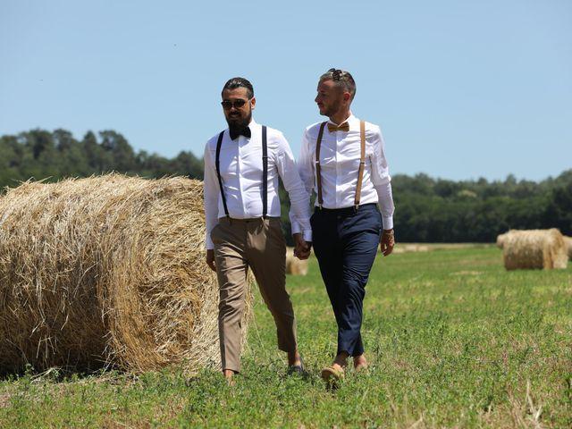 Le mariage de Andy et Morgan à Milly-la-Forêt, Essonne 16
