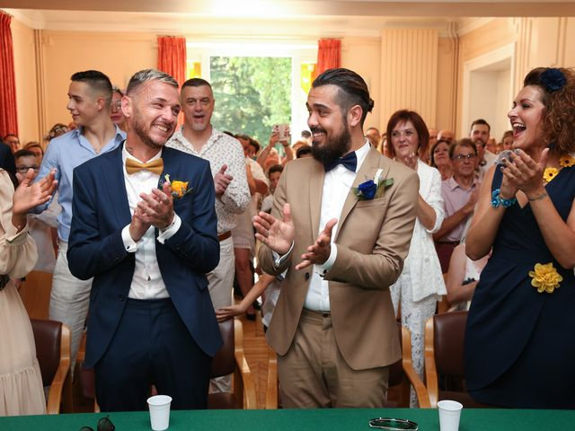 Le mariage de Andy et Morgan à Milly-la-Forêt, Essonne 21