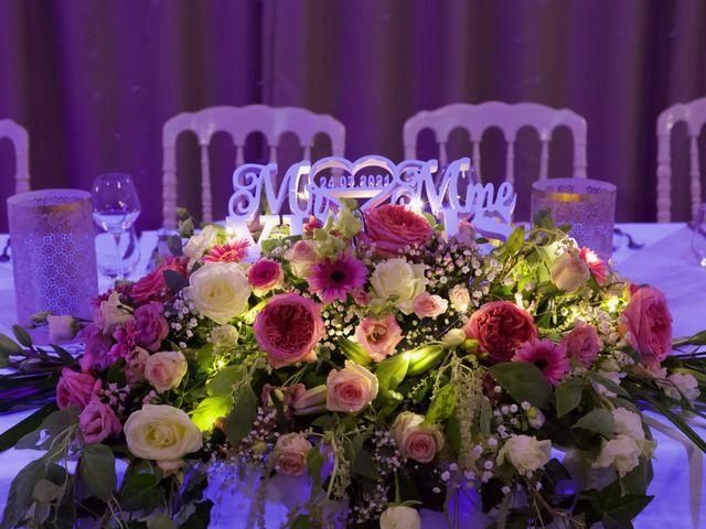 Le mariage de Jeff et Florie à Saint-Victor-la-Coste, Gard 5