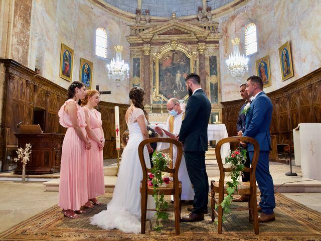 Le mariage de Jeff et Florie à Saint-Victor-la-Coste, Gard 21