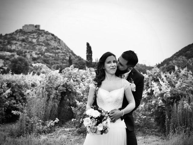 Le mariage de Jeff et Florie à Saint-Victor-la-Coste, Gard 29