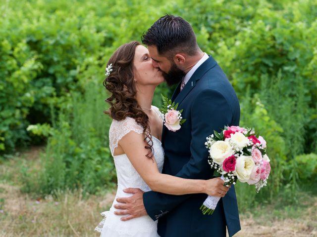 Le mariage de Jeff et Florie à Saint-Victor-la-Coste, Gard 30