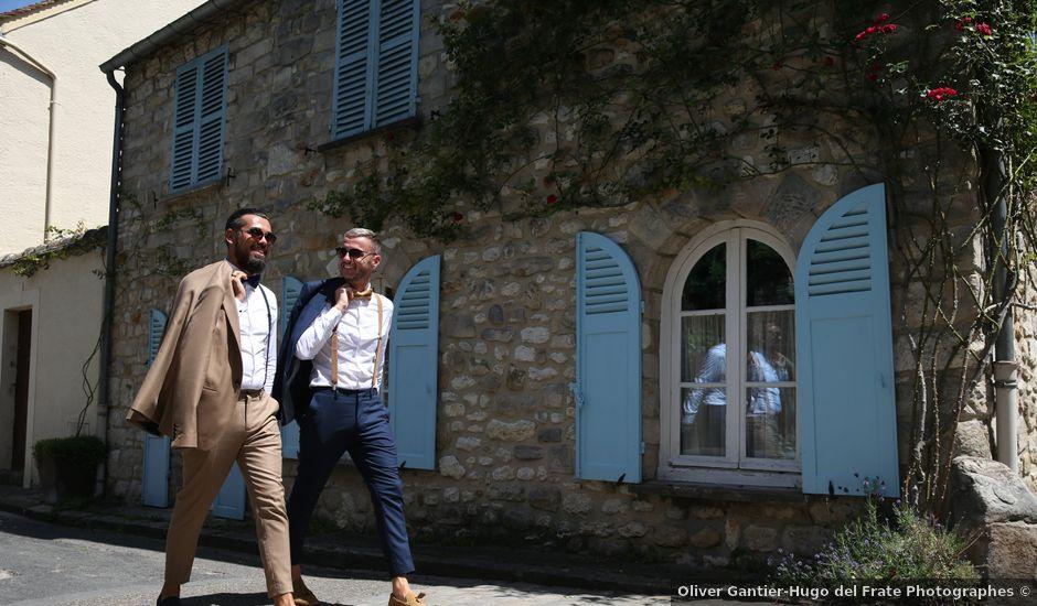 Le mariage de Andy et Morgan à Milly-la-Forêt, Essonne