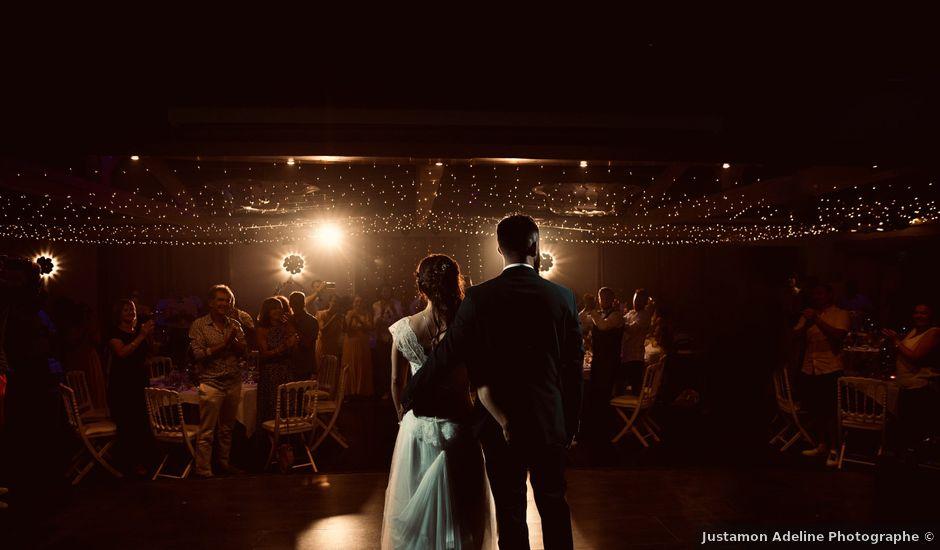 Le mariage de Jeff et Florie à Saint-Victor-la-Coste, Gard