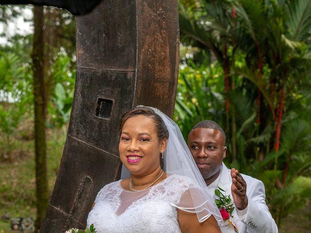 Le mariage de Moïse et Gaëlle à Saint-Joseph, Martinique 3