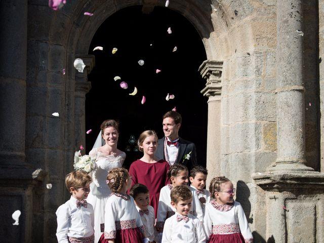 Le mariage de Guillaume Henry et Alexandra à Ploudalmézeau, Finistère 17