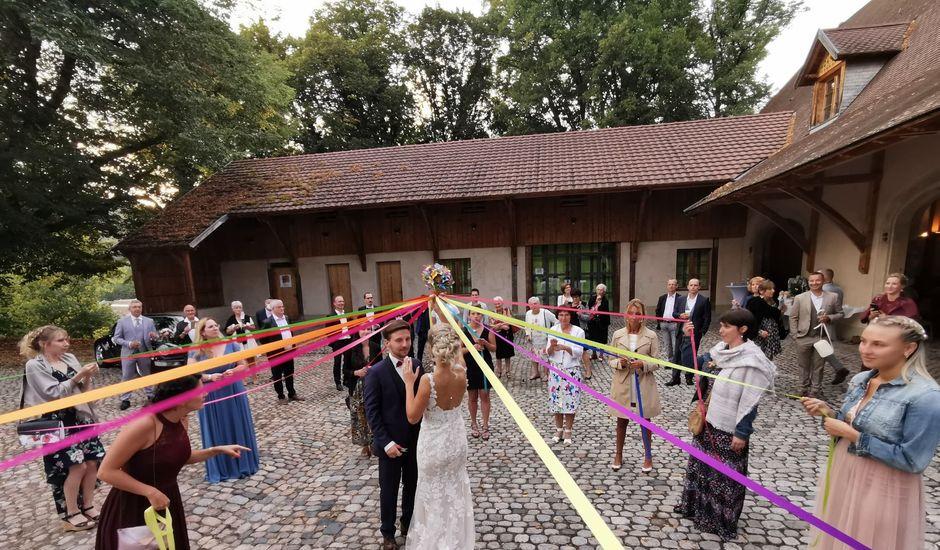 Le mariage de David et Camille à Saint-Maurice-sur-Moselle, Vosges
