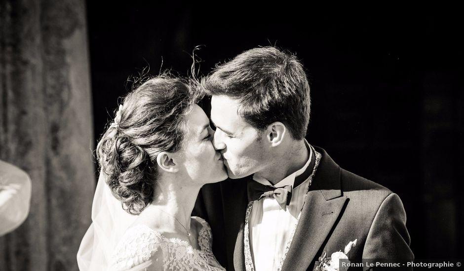 Le mariage de Guillaume Henry et Alexandra à Ploudalmézeau, Finistère