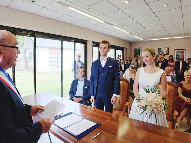 Le mariage de Benjamin et Justine à Radepont, Eure 2
