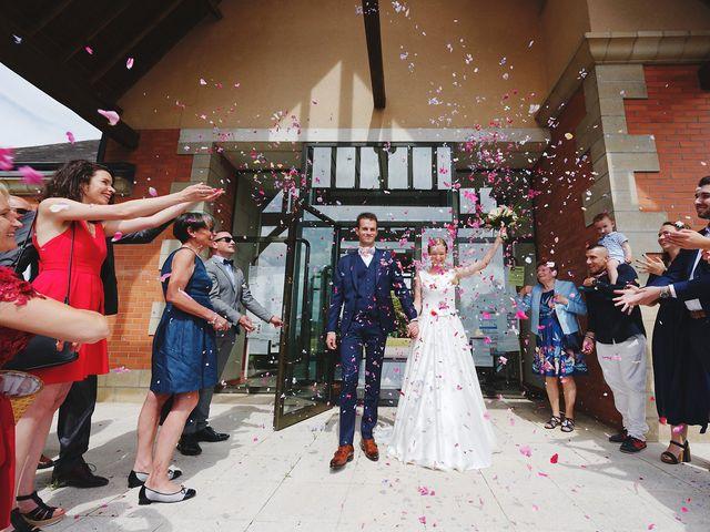 Le mariage de Benjamin et Justine à Radepont, Eure 3