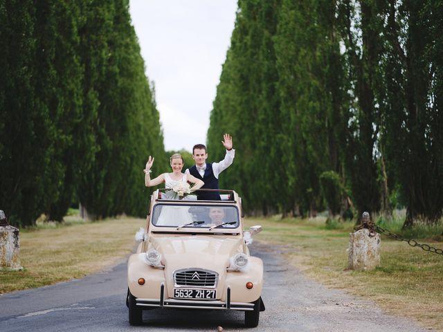 Le mariage de Benjamin et Justine à Radepont, Eure 4