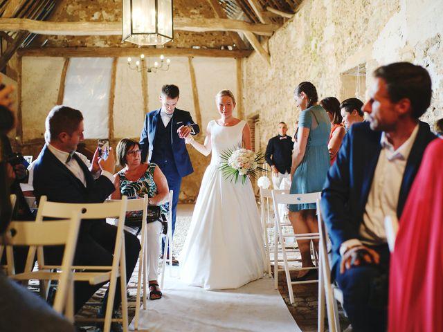 Le mariage de Benjamin et Justine à Radepont, Eure 6