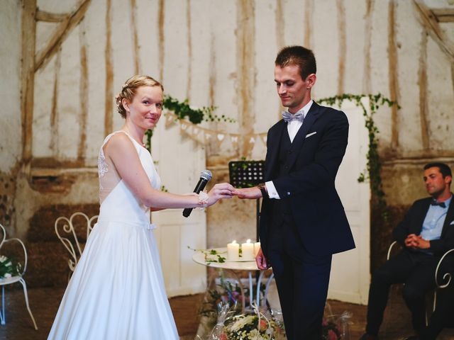 Le mariage de Benjamin et Justine à Radepont, Eure 9