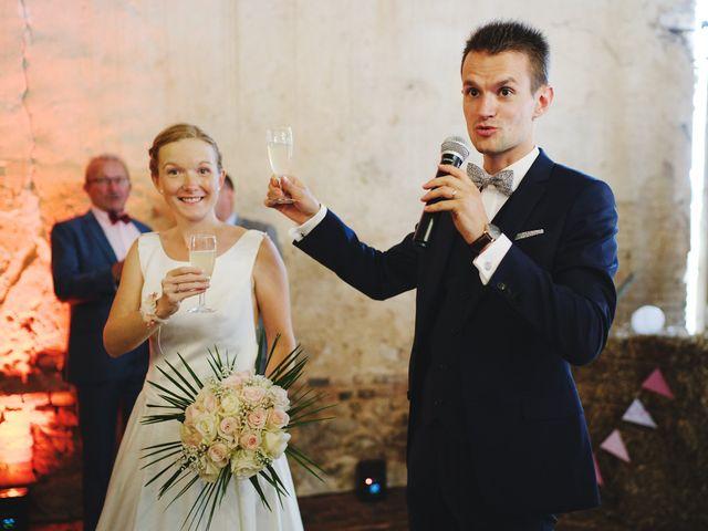 Le mariage de Benjamin et Justine à Radepont, Eure 10