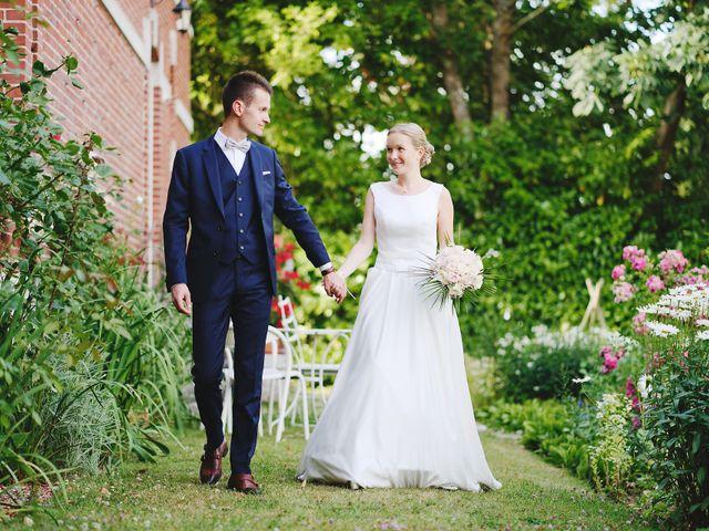 Le mariage de Benjamin et Justine à Radepont, Eure 11